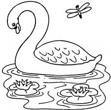 Barbie of Swan Lake Free Coloring Print 2