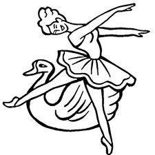 Barbie of Swan Lake Free Coloring Print 3