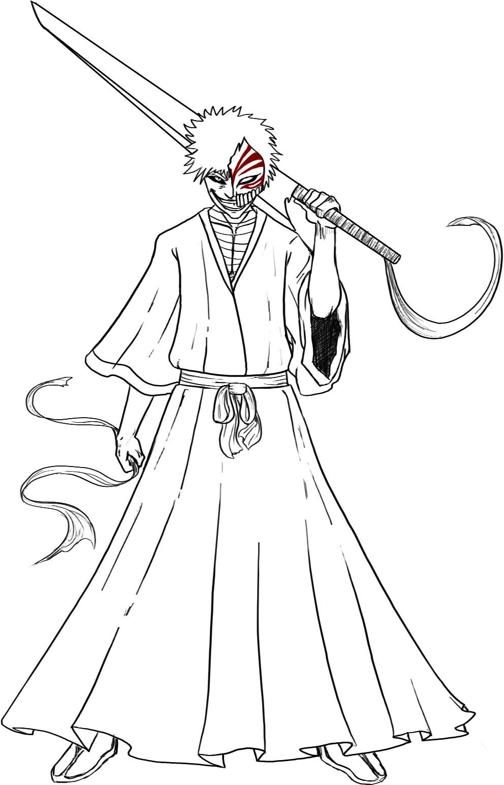Bleach Free Coloring Print 5