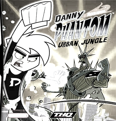 Danny Phantom Urban Jungle Free Coloring Print 1