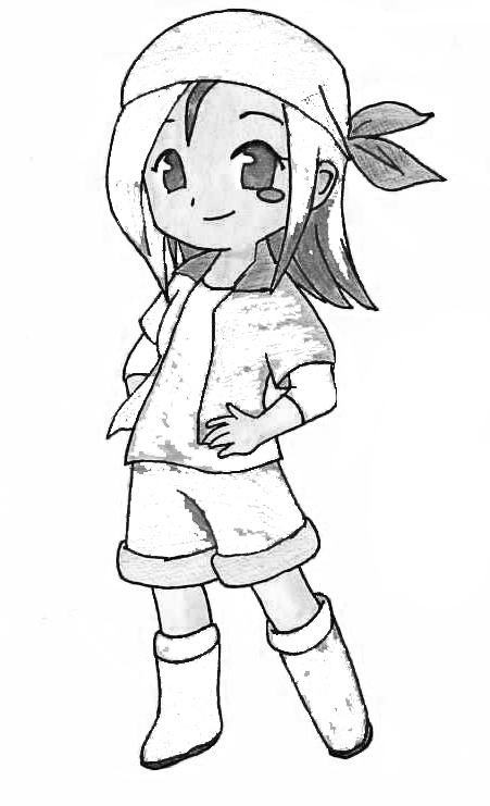 Harvest Moon Free Coloring Print 7