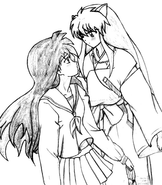 Inuyasha The Final Act Free Coloring Print 5