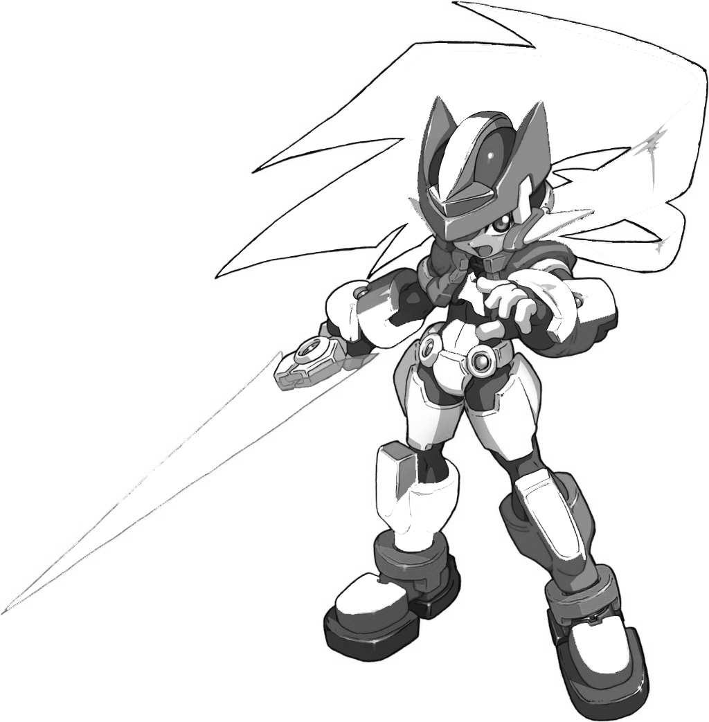 Megaman ZX Free Coloring Print 6