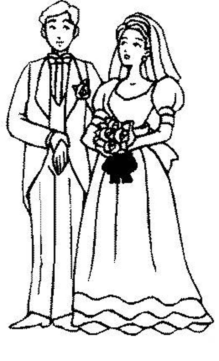 People Coloring Pages 2