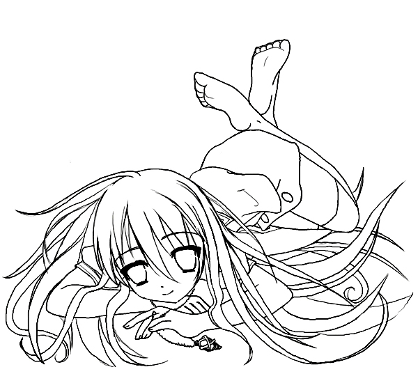 yoko coloring pages - photo#11
